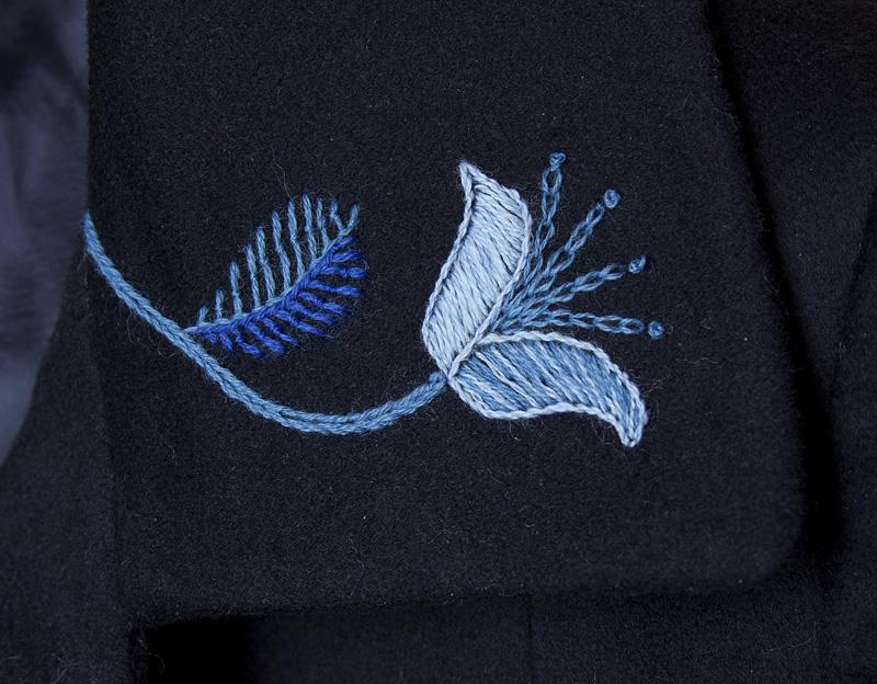 Mantli kraenurga tikand